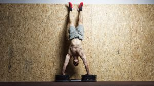 Strict Handstand Push Up